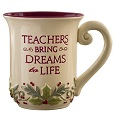 Deck the Halls Mug Teachers Bring Dreams to Life