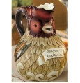 Cucina Italian Kitchen Pitcher Rooster Buona Fortuna