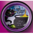 Halloween Pretty Wicked Wine Coaster & Stopper Cat