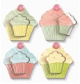 Just Desserts Cupcake Plate-Cookie Cutter-Recipe