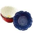 Grasslands Road American Bloom Red-White-Blue Flower Bowls