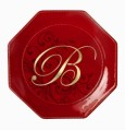 Grasslands Road Monogram Dessert Plate