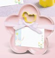 Bunny Cookie Tray Set Pink Flower