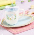 Bunny Mug & Cookie Plate Set Child Size