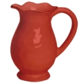 Cantaria Poppy Red Pitcher Vase