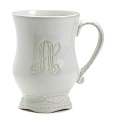 Skyros Designs Legado Monogram Mugs Set