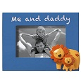 Pink Me and Daddy Frame with Lions