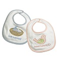 Grasslands Road Baby New Arrival Bib Pink or Blue