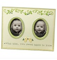 Baby Twins Double Frame | Grasslands Road | Twin Bliss