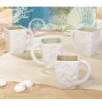 By The Sea Sand Dunes Mugs Set 4