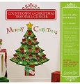 Grasslands Road Countown to Christmas Tree Wall Clingers