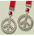 Grasslands Road Peace Ornament
