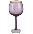 Grasslands Road Purple Balloon Wine Goblet