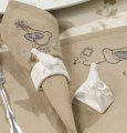 Melody Songbirds Napkin Rings set of 4