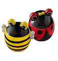 On A Whim Bee & Ladybug Salt & Pepper Shakers