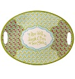 Grasslands Road Meadow Melamine Platter Live-Laugh-Love