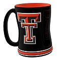 Boelter Brands NCAA Texas Tech Sculpted Mug