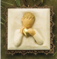 Willow Tree Ornaments Heart of Gold Ornament Metal-Edged 26204