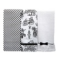 Jessie Steele Cafe Toile Towel Set
