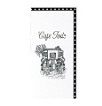 Jessie Steele Cafe Toile Recipe Book binder-style pages with cards