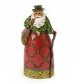 Jim Shore Heartwood Creek Irish Santa Figurine