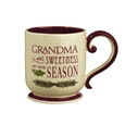 Deck the Halls Mug Grandma Sweetness of Season
