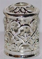 Fragrance Lamp Replacement Crown MINI Silver Hearts