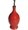 Cantaria Poppy Red Oil Bottle Cruet