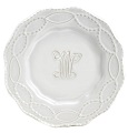 Skyros Designs Legado Monogram R Single Salad Plate