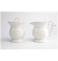 Skyros Historia Creamer and Sugar Bowl