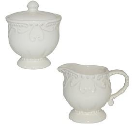 Skyros Isabella Creamer Sugar Bowl
