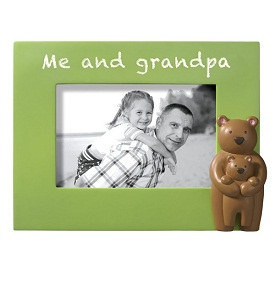 Grasslands Road Kids Frame Me and My Grandpa
