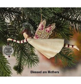 Grasslands Road Bake Shop Angel Ornament in 4-Styles