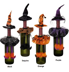 Queen of Halloween Witch Bottle Stopper and Skirt Set by Grasslands Road
