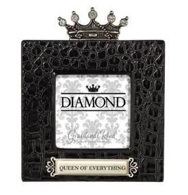 Grasslands Road Her Majesty Frames Queen of Everything Frame Black