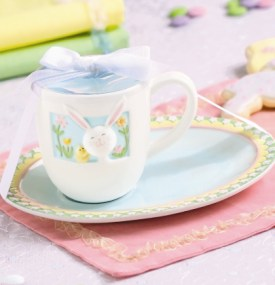 Bunny Mug & Cookie Plate Set for Child