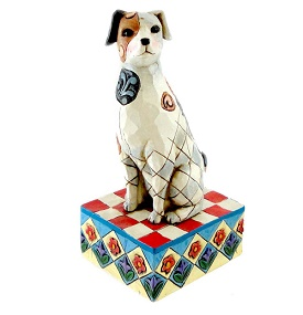 Jim Shore Heartwood Creek Dogs Terry Terrier Dog Figurine