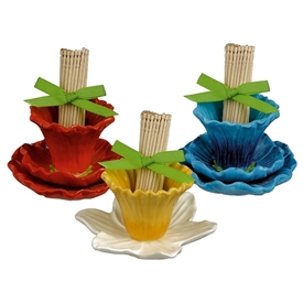 Grasslands Road Petals Flower Toothpick Holder