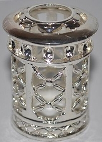 Fragrance Lamp Replacement Crown MINI Silver Lattice