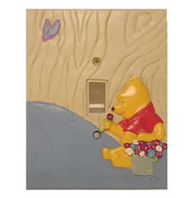 Classic Pooh Baby Switch Plate 100 Acre