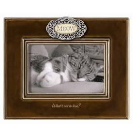Grasslands Road Pets Cat Frame With Meow