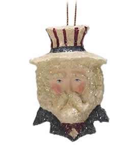 Enesco Snickle Uncle Sam Pin-Pendant for 4th of July party.